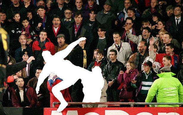 Eric Cantona - Kung Fu Kick