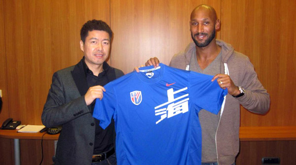 Anelka in China