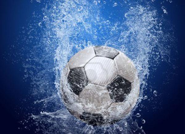 immagine di pallone in acqua