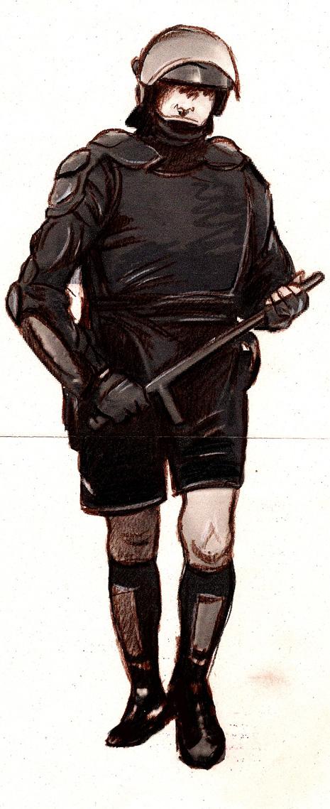 Disegno del celarbitro di Andrea Alberti