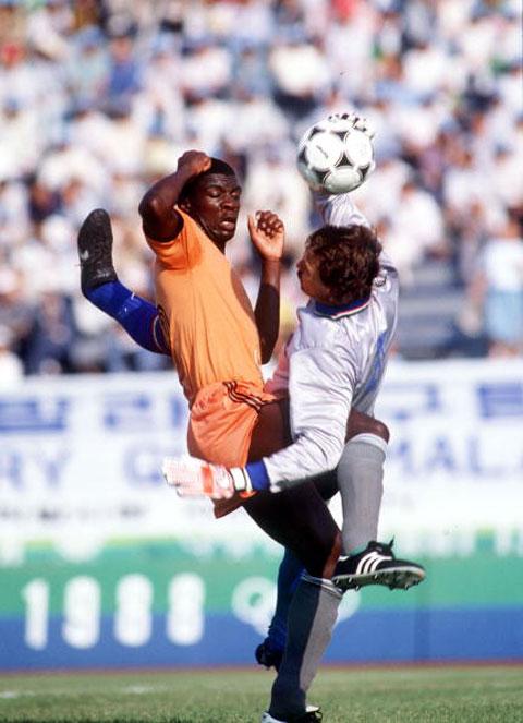 foto da Zambia-Italia Seul 1988