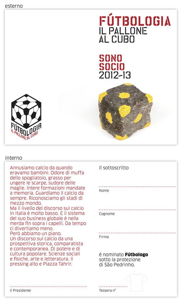 Tessera di Fútbologia 2012~21013