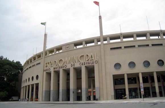 foto Estádio do Pacaembu di San Paolo