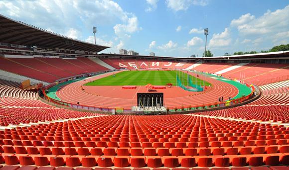 Stadio Stella Rossa o Marakana a Belgrado