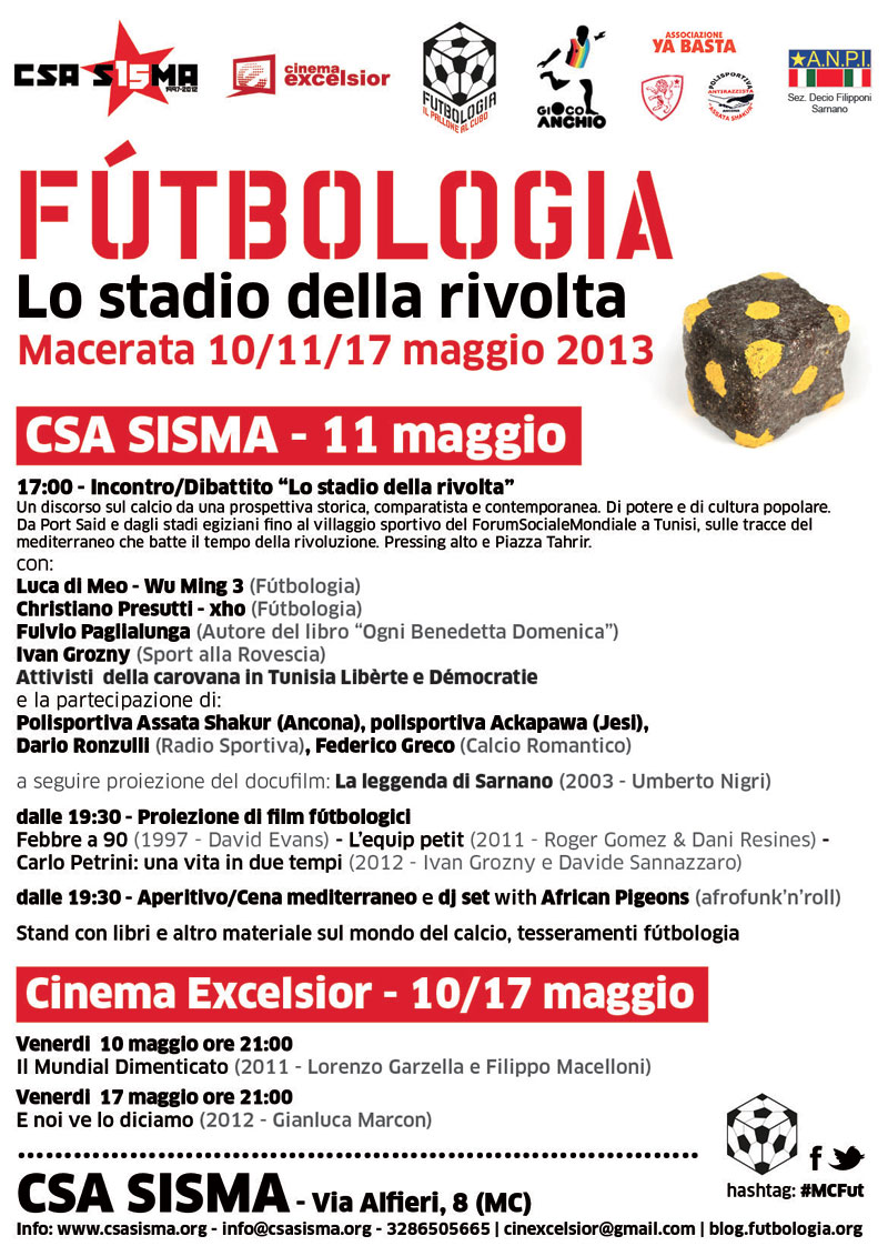 Locandina Macerata 11.05.2013