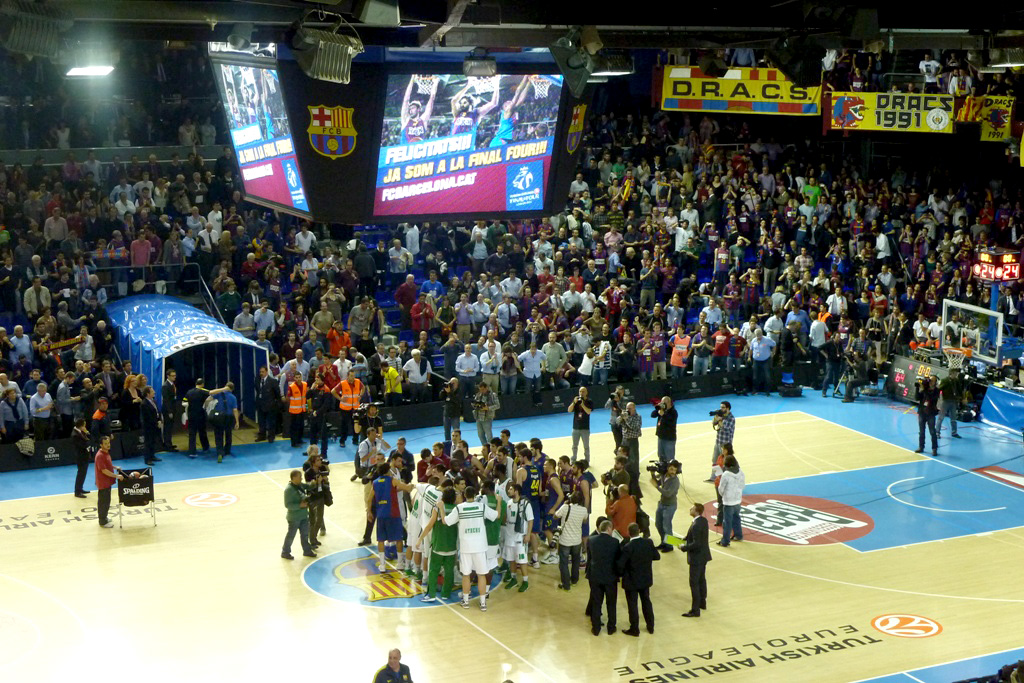 ©Gori - Barça-Panathinaikos basket