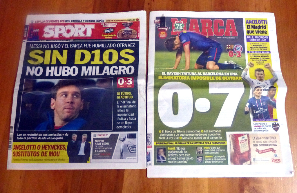 ©Gori - rivista dopo Barça-Bayern