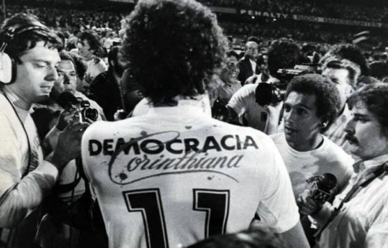 Maglia Democracia Corinthiana