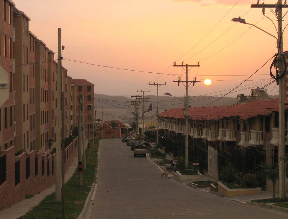 Barrio La Cumbre en Barranquilla, Colombia