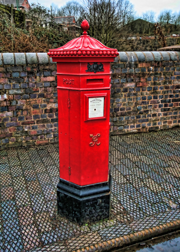 foto Post box Black Country