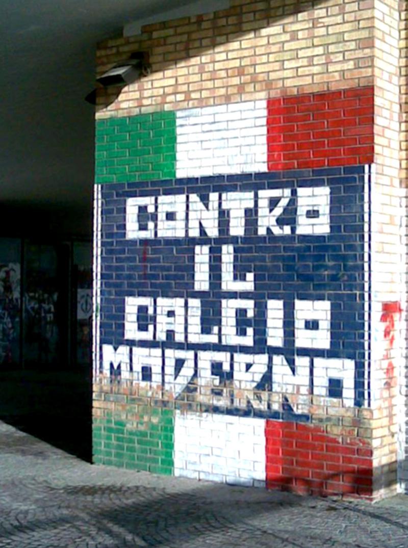sui muri contro il calcio moderno?!
