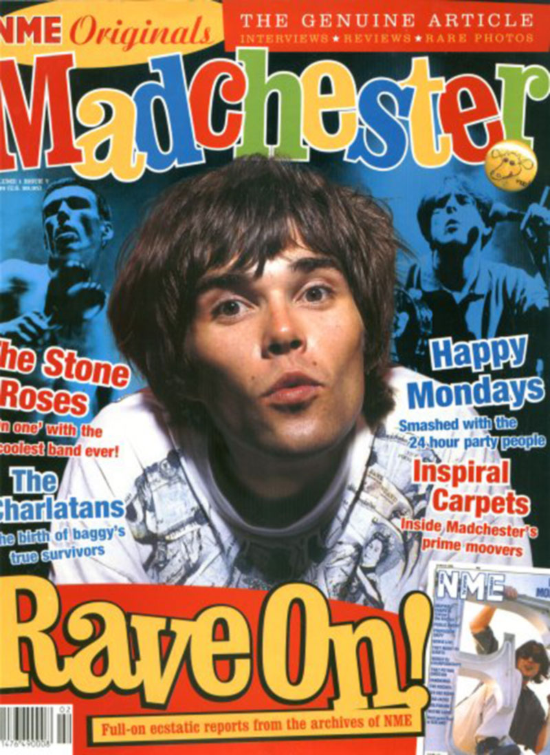 NME cover - Rave on