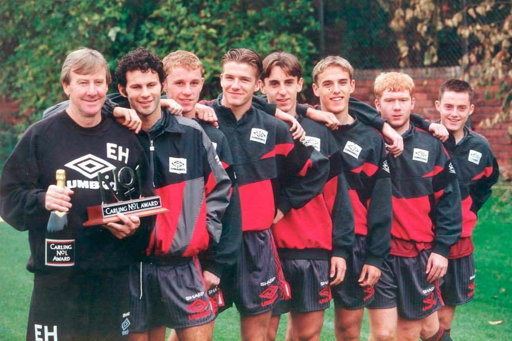 Manchester United Youth Team 1992