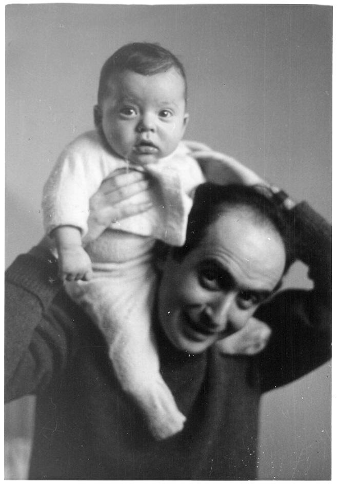 Vladimir Herzog con Ivo