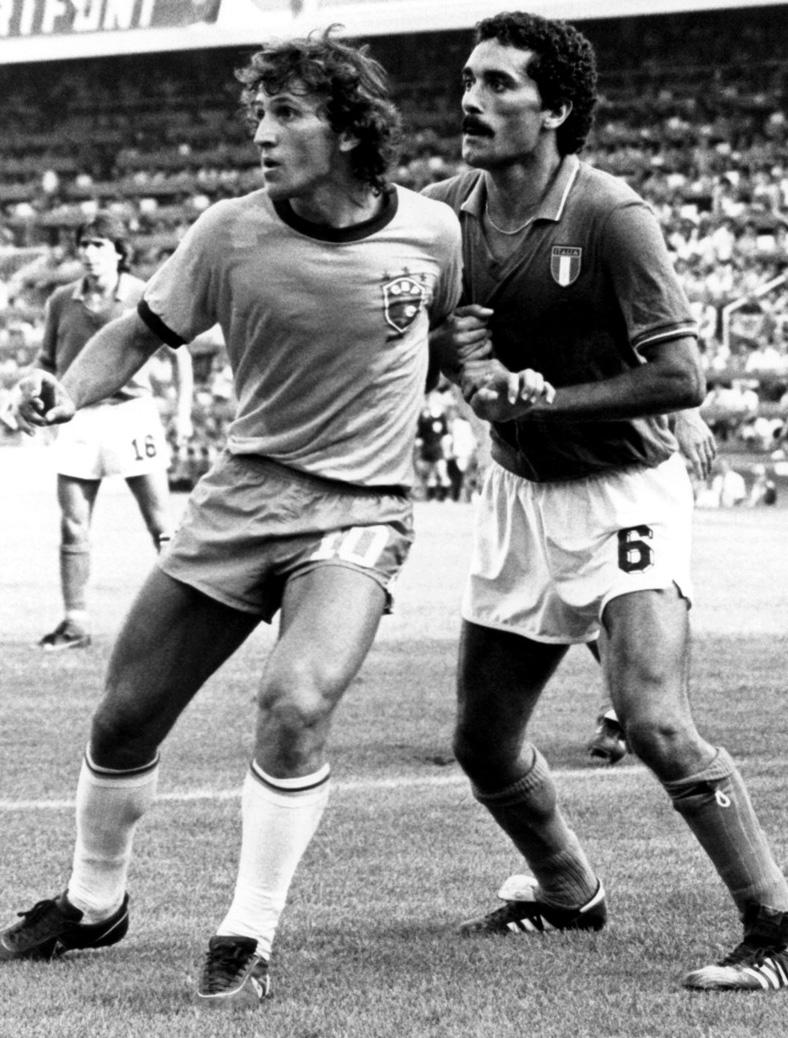 Claudio Gentile e Zico, Coppa del Mondo 1982