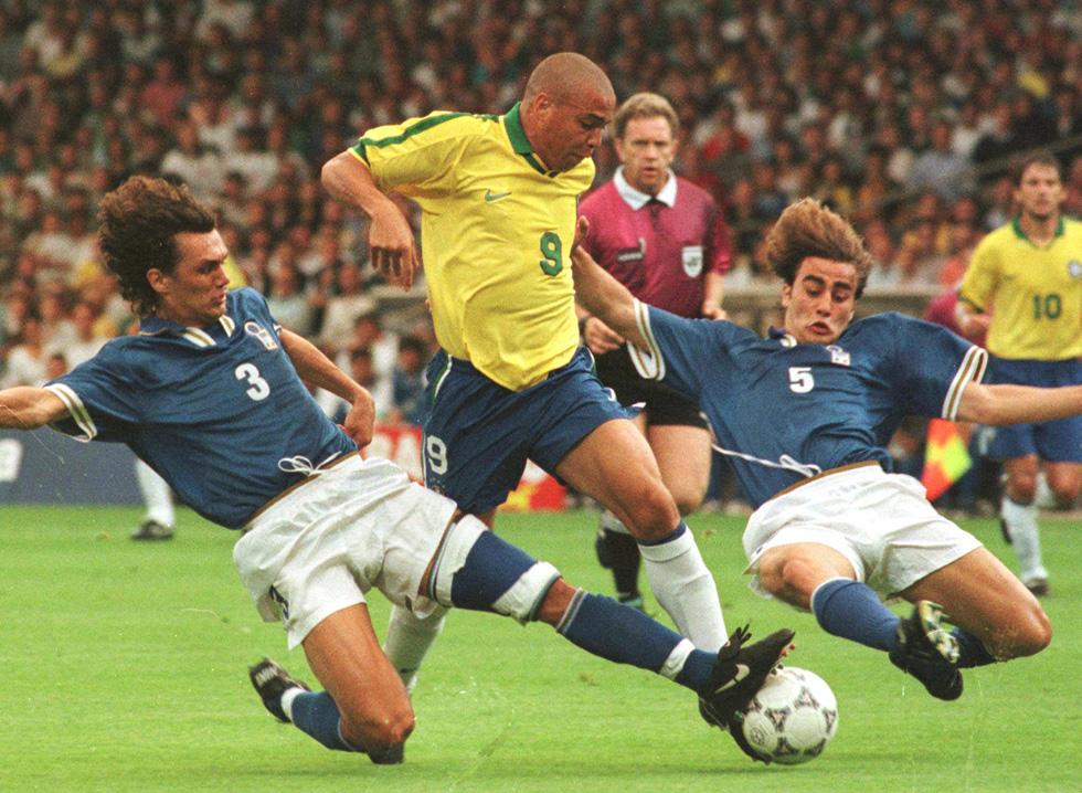 Italia Brasile, amichevole, 1997