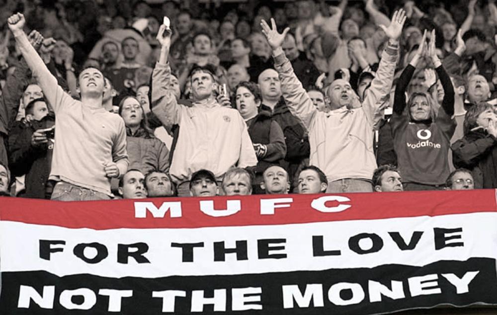 Tifosi dello United of Manchester FC