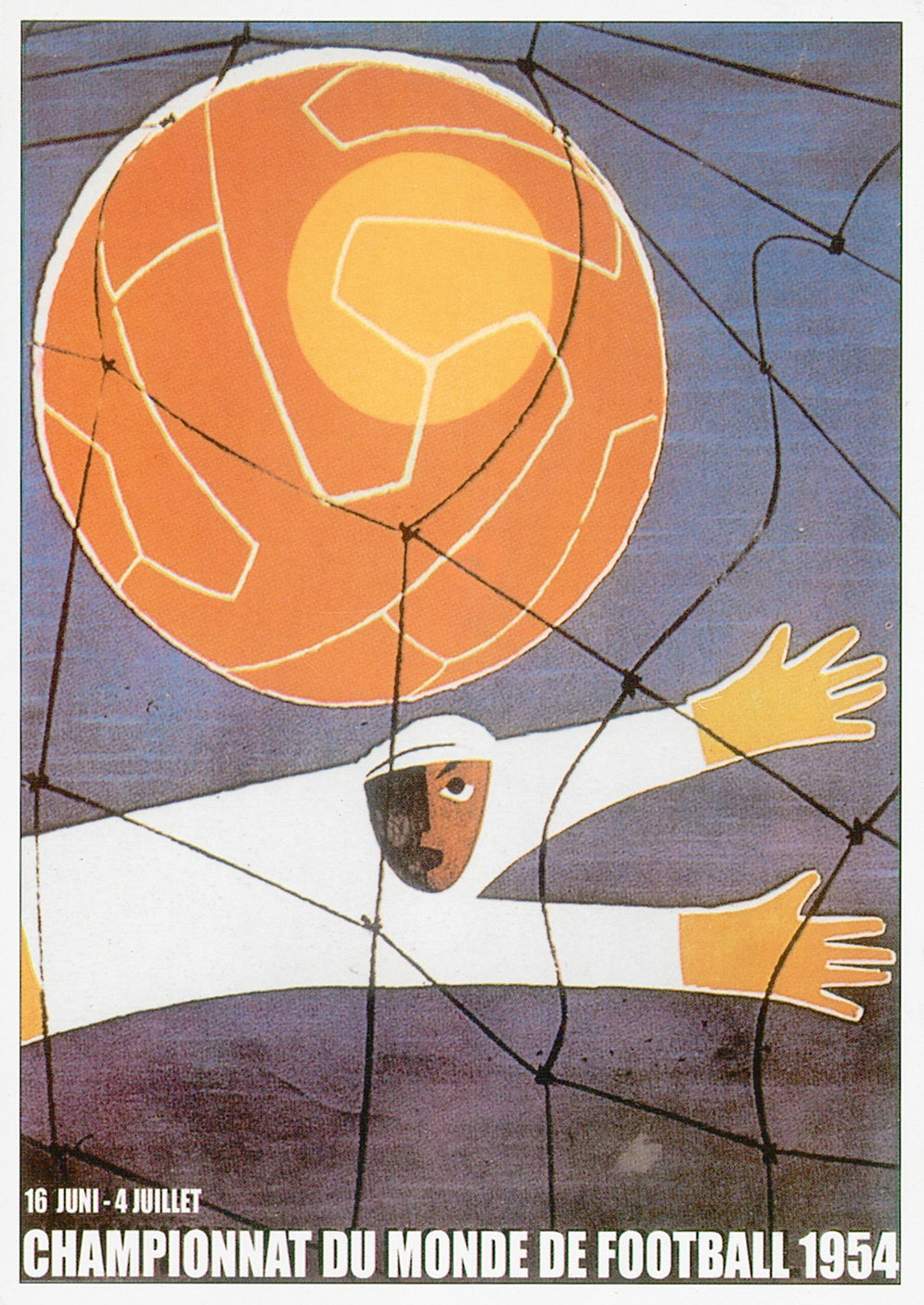 Poster World Cup Switzerland 1954