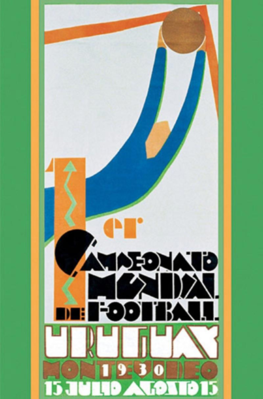 Poster World Cup Uruguay 1930