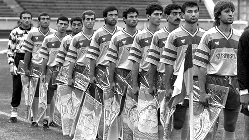 Armenia, la nazionale della neonata Repubblica nel 1992